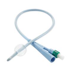 MON51631920 - MedtronicDover Foley Catheter 2-Way Standard Tip 5 cc Balloon 16 Fr. Silicone