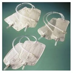 MON181522BX - Coloplast - Urinary Leg Bag Conveen Security+ Anti-Reflux Valve 600 mL Polyethylene