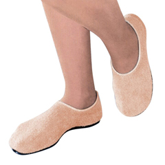 MON51871000 - PBESlippers Pillow Paws X-Large Sand Ankle High