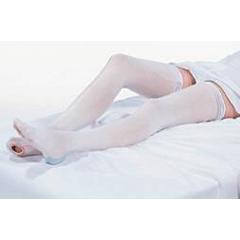 MON52110300 - Carolon CompanyAnti-embolism Stockings CAP Knee-high Medium, Regular White Inspection Toe