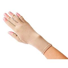 MON52173000 - Patterson MedicalCompression Glove Edema Gloves 2 Open Finger X-Small Over-the-Wrist Right Hand Lycra / Spandex