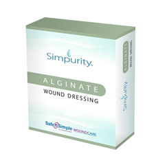 MON52702100 - Safe N Simple - Simpurity™ Alginate Dressing (SNS50702), 10/BX
