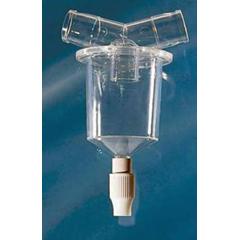MON195246CS - Vyaire Medical - AirLife® Inline Water Trap w/ Twist Valve, 50 EA/CS