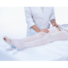 MON52770300 - Carolon CompanyAnti-embolism Stockings CAP Knee-high X-Large, Short Open Toe