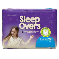 MON53033101 - First QualityProtective Underwear Pull On Sleep Overs® 85-140 lbs. X-Large, 22EA/BG
