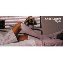 MON53040312 - Alba HealthcareAnti-embolism Stockings C.A.R.E. Knee-high X-Large, Regular White Inspection Toe