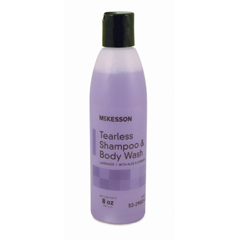 MON53291800 - McKessonTearless Shampoo and Body Wash 8 oz. Squeeze Bottle Lavender Scent