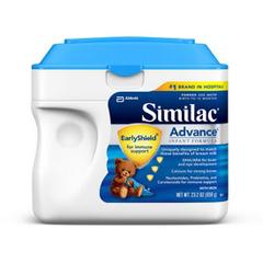 MON53352600 - Abbott NutritionInfant Formula Similac® Advance EarlyShield® 23.2 oz. Tub Powder