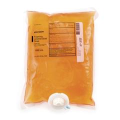 MON53361800 - McKessonAntimicrobial Soap Foaming Liquid 1000 mL Dispenser Bag Clean Scent