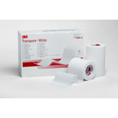 MON53422201 - 3MTranspore™ White Surgical Tape (1534-2)