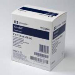 MON53502100 - Cardinal Health - Kendall™ Impregnated Foam Dressing AMD 3.5 x 3 Hydrophilic Polyurethane Foam Polyhexamethylene Biguanide (PHMB) Sterile