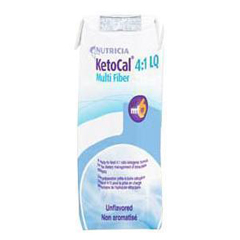 MON53552600 - NutriciaOral Supplement / Tube Feeding Formula KetoCal 4:1 Unflavored 8 oz. Carton Ready to Use