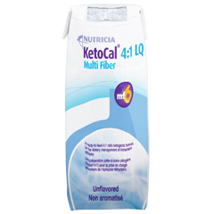 MON53552601 - NutriciaOral Supplement / Tube Feeding Formula KetoCal 4:1 Unflavored 8 oz. Carton Ready to Use