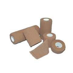 MON53642001 - McKessonCompression Bandage Medi-Pak® Performance Elastic with Cohesive 6 Inch X 5 Yard Sterile