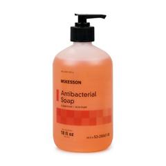 MON53671801 - McKessonAntibacterial Soap McKesson Liquid 18 oz Pump Bottle Clean Scent