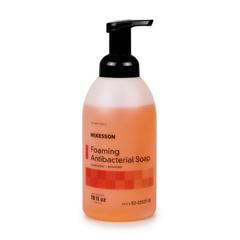 MON53781801 - McKessonAntibacterial Soap McKesson Foaming 18 oz Pump Bottle Clean Scent