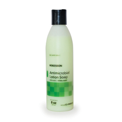 MON53831800 - McKessonAntimicrobial Soap Lotion 8 oz. Bottle Herbal Scent