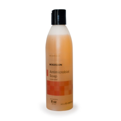 MON53871801 - McKessonAntimicrobial Soap Gel 8 oz. Bottle Clean Scent