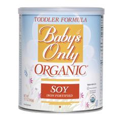 MON53952600 - Nature's One Inc.Babys Only Organic Soy Infant Formula Vanilla 360g, 6EA/CS, 6EA/CS