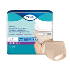 MON54083100 - Essity - TENA® ProSkin™ Protective Incontinence Underwear for Women, Maximum Absorbency, Large