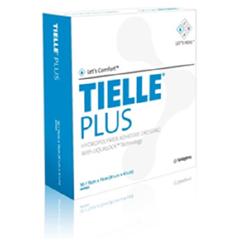 MON54442101 - SystagenixFoam Dressing Tielle® Plus 5-7/8 X 5-7/8 Inch