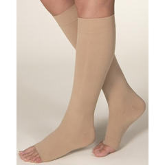 MON54810200 - JobstKnee-High Open Toe Compression Stockings