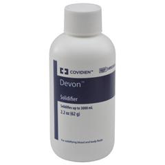 MON54904000 - MedtronicDevon™ Solidifier Bottle, 75EA/CS (54903000)
