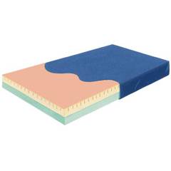 MON55000500 - Skil-CareBed Mattress Perimeter-Guard Pressure Reduction Mattress 36 X 80 X 6 Inch