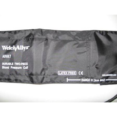 MON55022500 - Welch-AllynCuff and Bladder Large Adult, 2 Piece, 1 Tube, Size 12 Spot Vital Signs Monitors