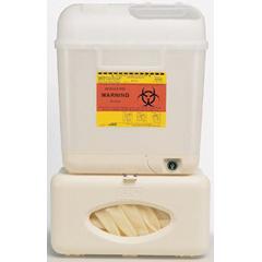 MON55032800 - BDPatient Room Collector Starter Kit Wallmate 5.4 Quart Pearl Base