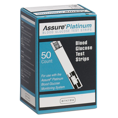 MON55052400 - ArkrayAssure® Platinum Test Strips