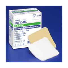 MON55352100 - MedtronicKendall™ Foam Dressing 3.5 x 3 Square Sterile