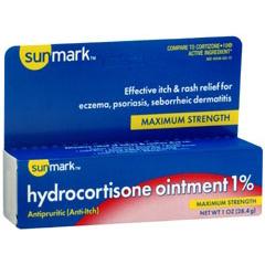 MON55352700 - McKessonItch Relief sunmark 1% Strength Cream 1 oz. Tube (1982495)
