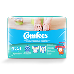 MON55463101 - Attends - Youth Training Pants Comfees Pull On 4T-5T Disposable