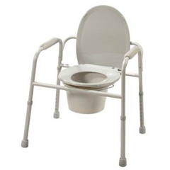 MON55483300 - Patterson MedicalDeluxe All-In-One Commode (554889)