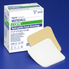 mon55562100 - MedtronicKendall™ Hydrophilic Foam Dressing