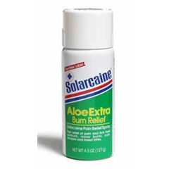 MON55602700 - Schering PloughBurn Relief Solarcaine® 4.5 oz. Spray