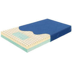 MON55810500 - Skil-CareBed Mattress Pressure-Check® Pressure Reduction Mattress 36 X 76 X 6 Inch