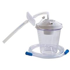 MON56036400 - Home Health Medical EquipmentSuction Canister Kit 800 cc Float Valve Shut-off, White Lid