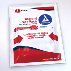 MON56052704 - DynarexHot Pack Instant Chemical Activation General Purpose 5 X 9 Inch, 24EA/CS