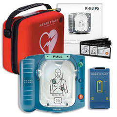 MON56062500 - Philips HealthcareDefibrillator / Carrying Case HeartStart®