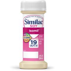 MON56382610 - Abbott NutritionInfant Formula Similac® Soy Isomil® 2 oz. Bottle Ready to Use