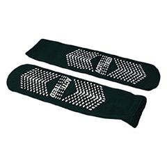 MON56481001 - Medical Action IndustriesSlipper Socks Acti-Tred Bariatric Green Ankle High, 2 EA/PR