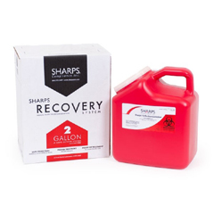 MON56642800 - Sharps ComplianceThe Sharps Disposal By Mail System PRO-TEC 2-Gallon Sharps Recovery System