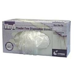 MON56921300 - McKessonGeneral Purpose Glove X-Large Vinyl Translucent Beaded Cuff