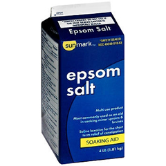 MON57061706 - McKessonEpsom Salt sunmark 4 lbs. Granules (1722925)