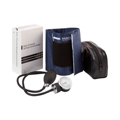 MON57122500 - McKessonAneroid Sphygmomanometer Pocket Style Hand Held 2-Tube Large, Adult Arm