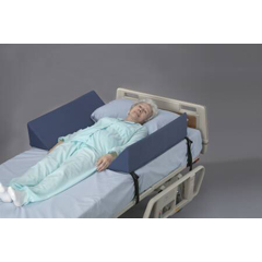 MON57163000 - PoseyBed Side Wedge Soft Rails 33 L X 8 W X 8 H Inch Foam Straps with Quick Release Buckles