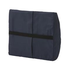 MON1027615EA - Mabis Healthcare - Sacroiliac Lumbar Cushion, Navy (555-7300-2400HS)