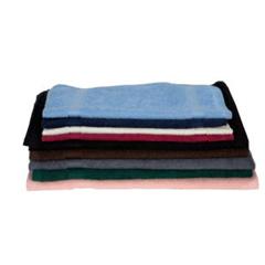 MON1125056DZ - Royal Blue - Washcloth Coronet 12 X 12 Inch White Reusable, 12/DZ